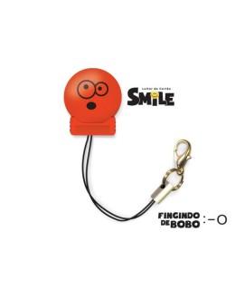 LEITOR MICRO SD SMILE VERMELHO 5444