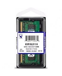 MEMORIA NOT DDR3 4GB 1600 KINGSTON