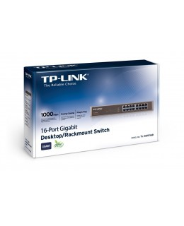 HUB SWITCH  16P 10/100/1000 TP-LINK TL-SG1016D