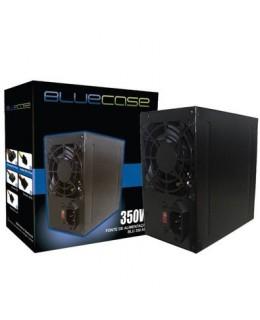 FONTE 350W PFC ATIVO C/CABO C/CAIXA BLUECASE