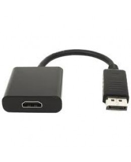 ADAPTADOR CONVERSOR DISPLAY PORT MACHO PARA HDMI FEMEA