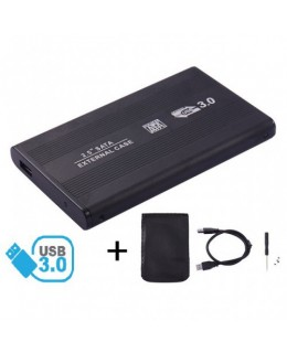 CASE PARA HD 2.5 SATA USB 3.0 PRETO BLUECASE