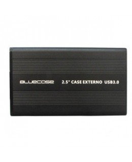 CASE PARA HD 2.5 SATA USB 2.0 PRETO BLUECASE