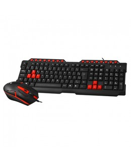 KIT TECLADO+MOUSE USB GAMING GK-20BK C3T