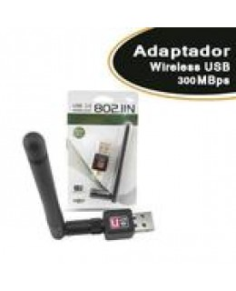 ADAPTADOR WIRELESS USB 300 MBPS 7DBI